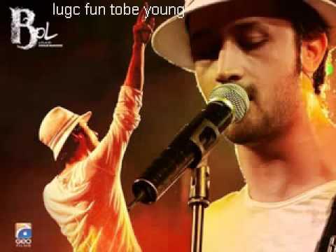 Atif Aslam aaj BOL do full song with hadiqa Kiyani..flv