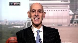 NBA Commissioner Adam Silver Joins Inside the NBA To Address Hiatus During Coronavirus Pandemic