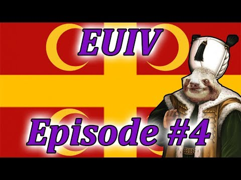 Let's Play EUIV Turks to Byzantines!? Episode 4 (The Phoenix Rises)