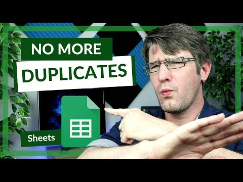 How to Remove Duplicates and trim whitespace in Google Sheets
