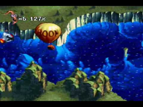 Let's Play Earthworm Jim 2 - Part #05: Flyin' Fat Guys