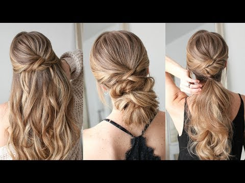 3 Easy Twisted Hairstyles | Missy Sue thumbnail
