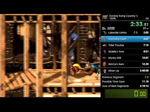 Donkey Kong Country Trilogy | 306% Speed run | 5:15:50
