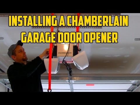 100 chamberlain garage door opener video chamb