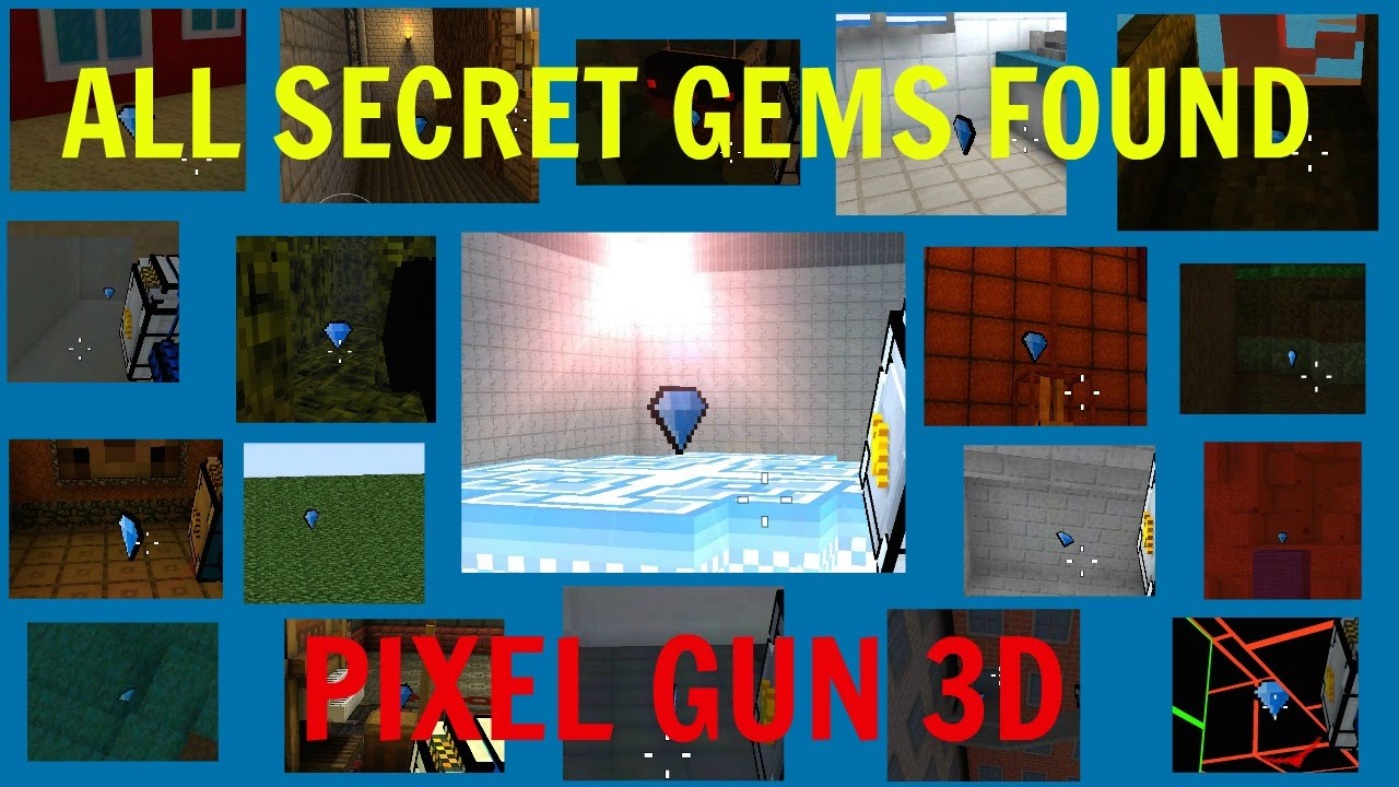how to get gems in pixel gun