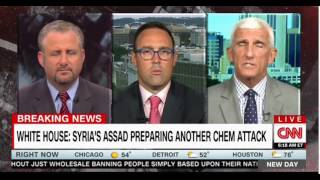 Did Trump draw a Red Line on Syria CNN Morning Show Panel discusses