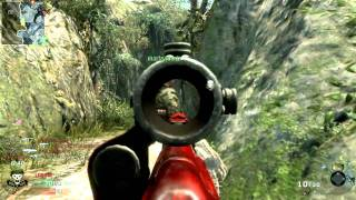 Black Ops - Trying The ACOG Dragunov Full Unedited Match