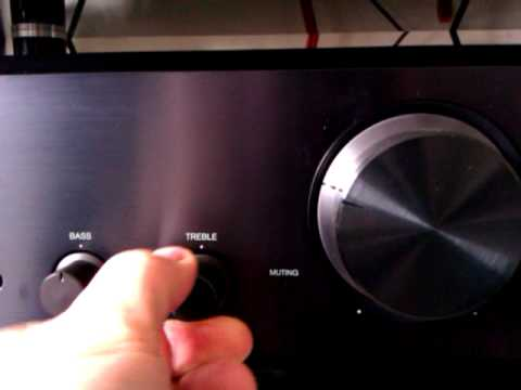 Onkyo A9155 integrated amplifier preview