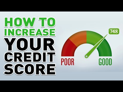 Increase Your Credit Score by 100 Points FAST (EASY TRICKS) 2018