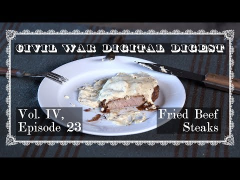 Fried Beef Steaks - Vol. IV, Episode 23