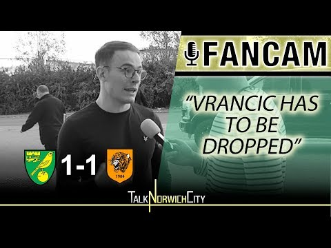 'VRANCIC HAS TO BE DROPPED' - NORWICH 1-1 HULL