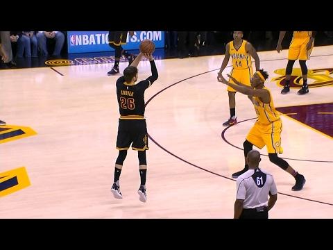 Kyle Korver's Deep 3-Pointer   Pacers vs Cavaliers   February 15, 2017   2016-17 NBA Season
