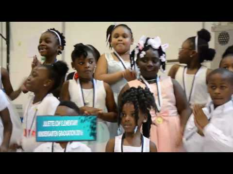 Juliette Low Elementary kindergarten graduation 2016