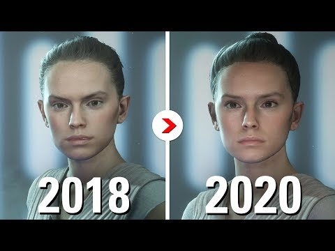 ALL VISUAL CHANGES since 2018 | Star Wars Battlefront II