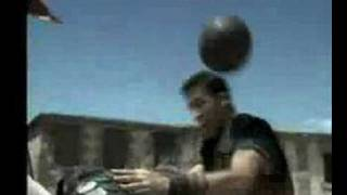 Pepsi Football Commercial 2004 - Medieval Footballers