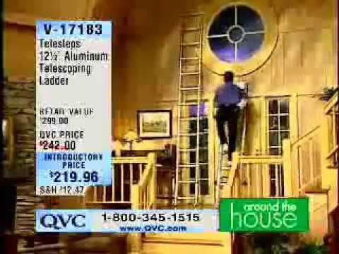 Home Shopping Network Ladder Fall