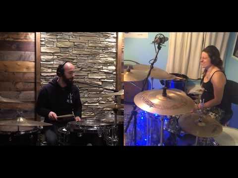 Boyan(Bonzy) & Boyanna Trayanova - Virtual Drum Jam In 7/8