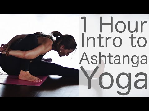 1 Hour Ashtanga Yoga (intro class) | Fightmaster Yoga Videos