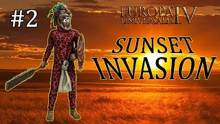 Europa Universalis IV - Aztec - EU4 Achievement Sunset Invasion - Part 2