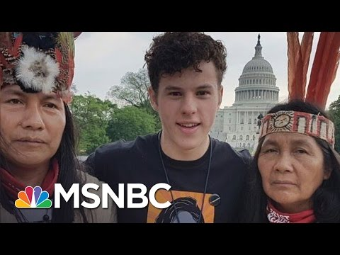 Modern Family's Nolan Gould On President Donald Trump And Climate Change  MSNBC