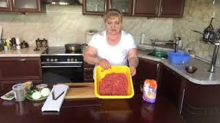 как готовить ишли кюфта ( котлет с начинкой )