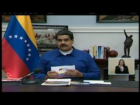 Presidente Maduro lidera reunión de Consejo de Ministros