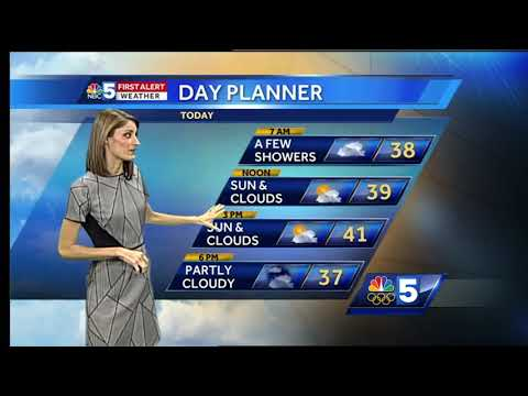 Video: Lake effect snow will add up in some places 12/6/17