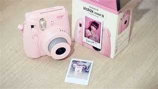 Instax Mini 8: Unboxing, Set-Up, First Shot!