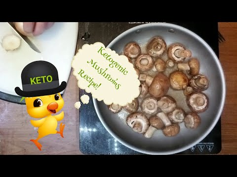How to make Keto Mushrooms | Ketogenic Diet | Low Carb Recipe