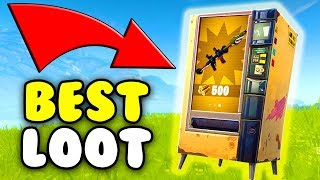 How To Get The Best Gear! ⭐ FORTNITE VENDING MACHINE UPDATE!