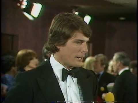 Christopher Reeve   Superman  California Suite  Royal Film Premier  1979