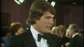 Christopher Reeve interview | Superman | California Suite | Royal Film Premier | 1979