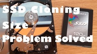 Cloning HDD to smaller SSD Size Problem Solved!