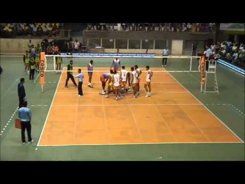64th Indian National Volleyball Championship: Punjab Vs Indian Railways