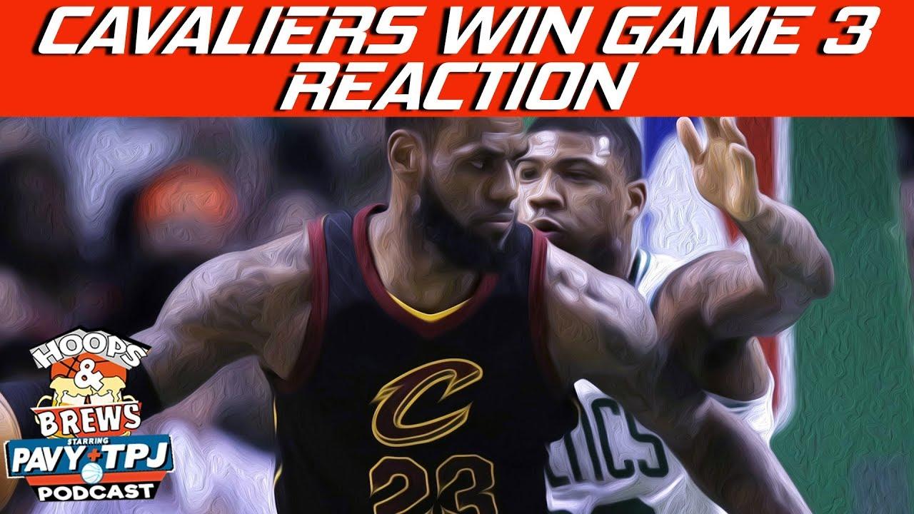 cavaliers-win-game-3-vs-celtics-reaction-hoops-n-brews