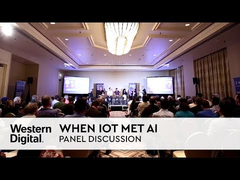 Panel Discussion | When IoT Met AI: The Intelligence of Things