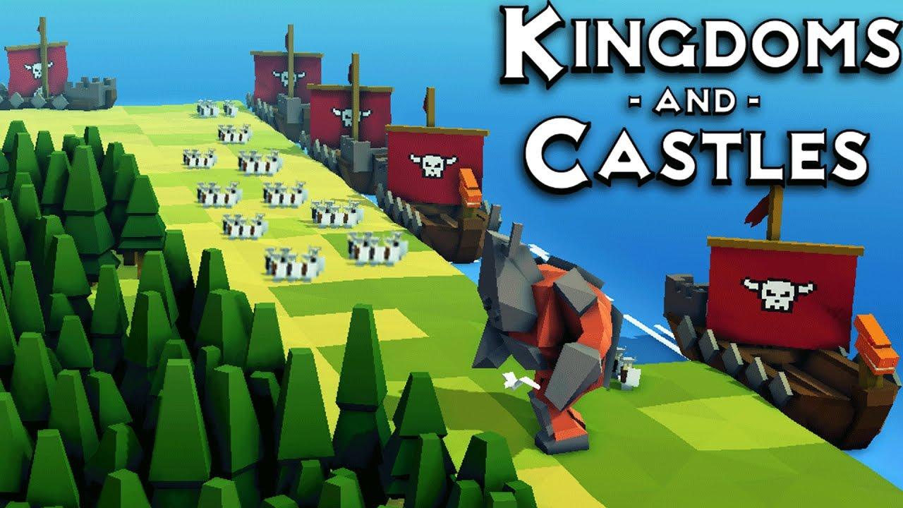 kingdoms and castles vikingos