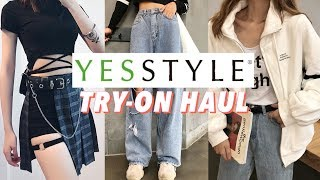 500€ SUR UN SITE CORÉEN ! - KOREAN FASHION STYLE HAUL | YESSTYLE