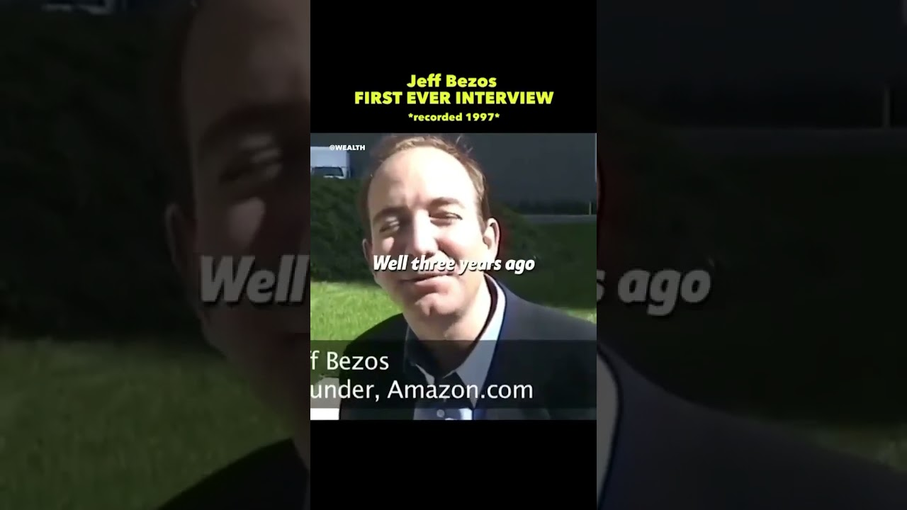 Jeff Bezos - First Ever Interview in ...
