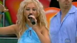 Christina Aguilera Genie In A Bottle Live Disney Summer Jam