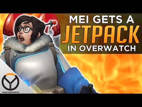 Overwatch: Mei Gets A JETPACK