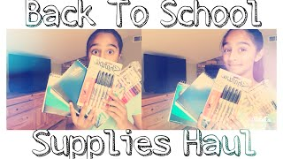 Back To School Supplies Haul - VVPEACECANADA Thumbnail