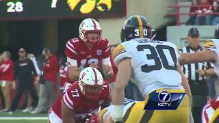 Highlights: Iowa demolishes Nebraska, 56-14