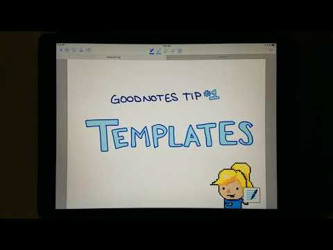 How to Make and Use Templates in Goodnotes