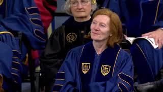 Notre Dame Commencement 2018: Margaret Murnane Honorary Degree