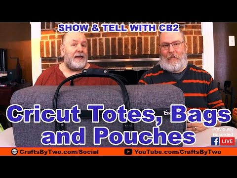 Cricut Totes, Bags & Pouches - Show & Tell with CB2