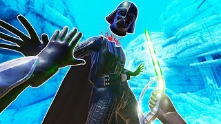 I Force Choked Darth Vader and His Head Popped Off in Blade and Sorcery VR!