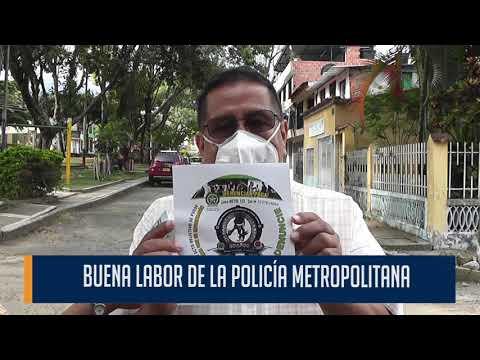Comunidad del barrio Las Brisas reconoce la efectividad de la Policía Metropolitana de Ibagué