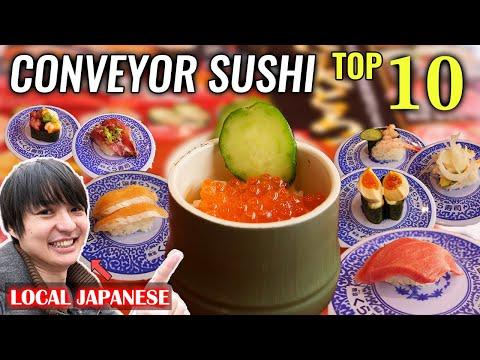 Japanese Local's Top 10 Favorite Conveyor Sushi Menus At