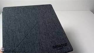 Kindle Oasis 2 Cover Review - Water-Safe Fabric Standing Cover